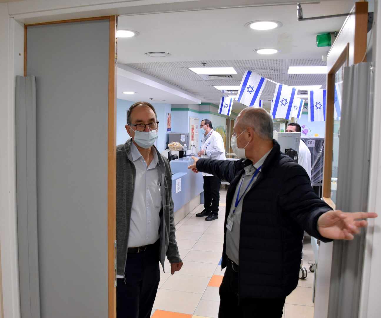 בשל העלייה המשמעותית במספר החולים, נפתחה במרכז הרפואי פדה-פוריה מחלקה שלישית לטיפול בחולי קורונה.